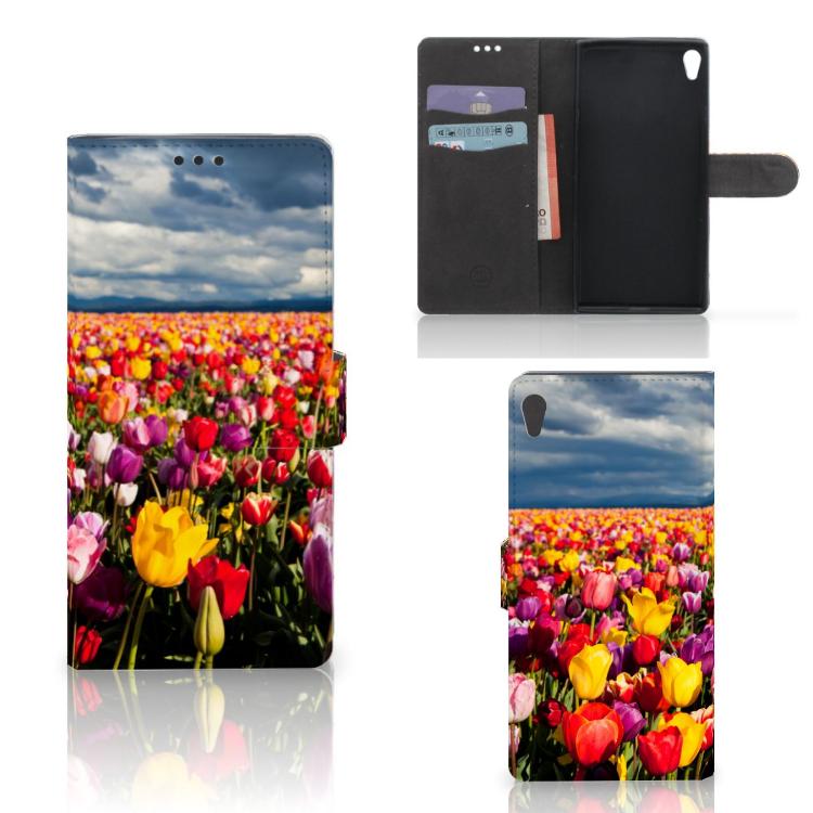 Sony Xperia XA Ultra Hoesje Tulpen