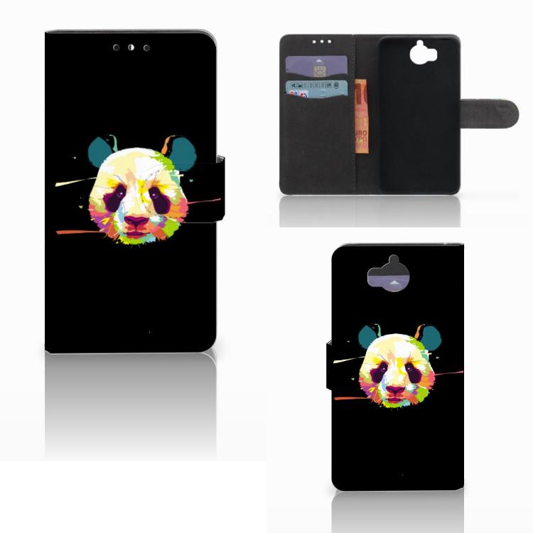 Huawei Y5 | Y6 2017 Leuk Hoesje Panda Color