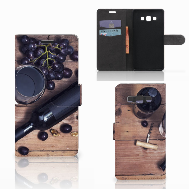 Samsung Galaxy A7 2015 Book Cover Wijn