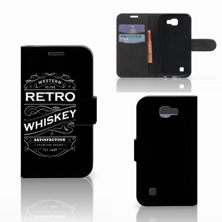 LG K4 Book Cover Whiskey