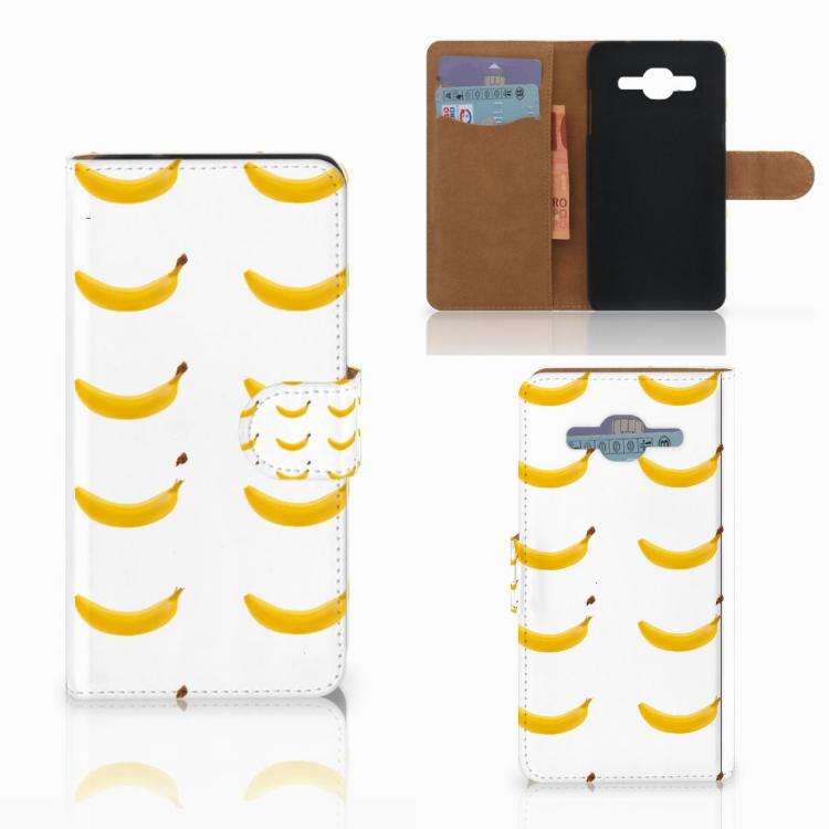 Samsung Galaxy J2 2016 Book Cover Banana