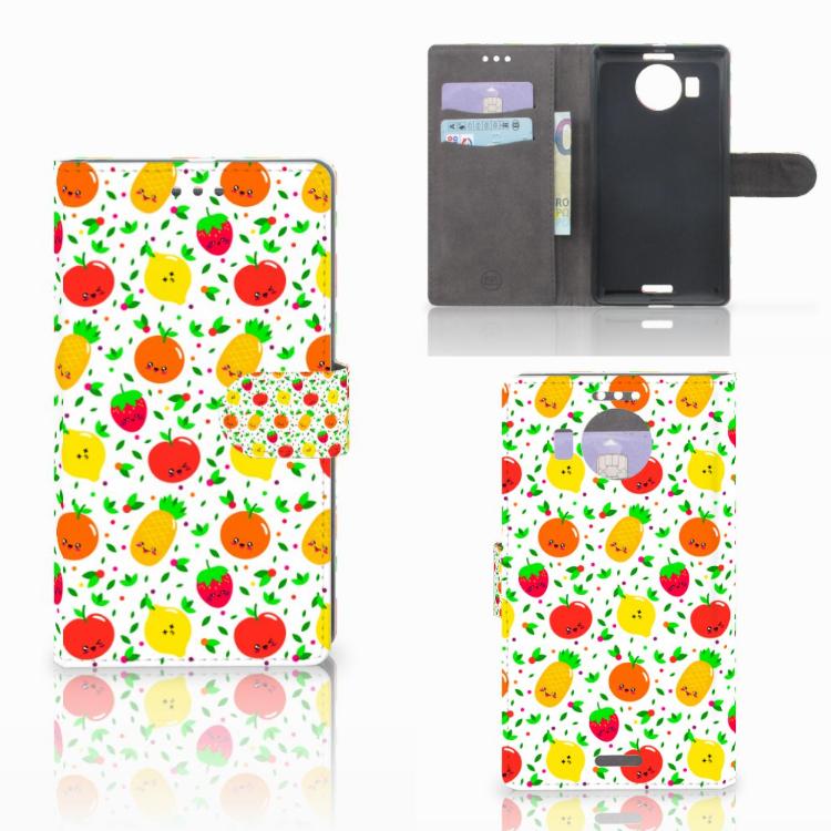 Microsoft Lumia 950 XL Book Cover Fruits