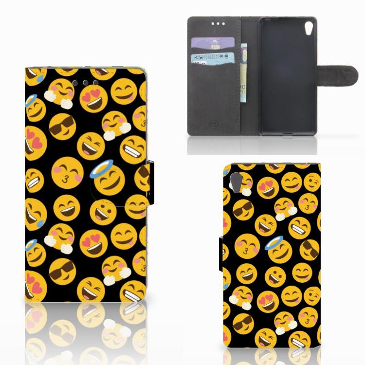 Sony Xperia E5 Telefoon Hoesje Emoji