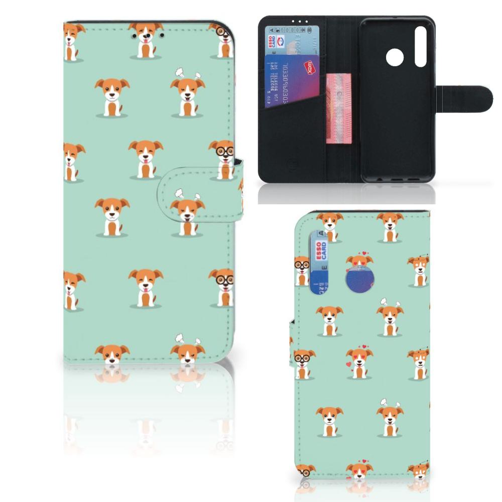 Huawei P Smart 2019 Telefoonhoesje met Pasjes Pups