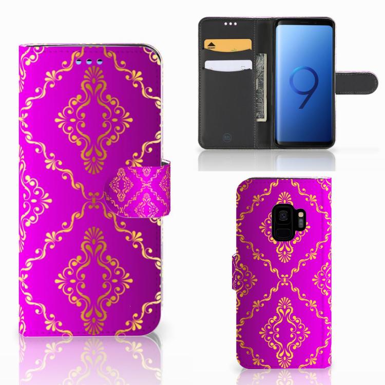 Wallet Case Samsung Galaxy S9 Barok Roze