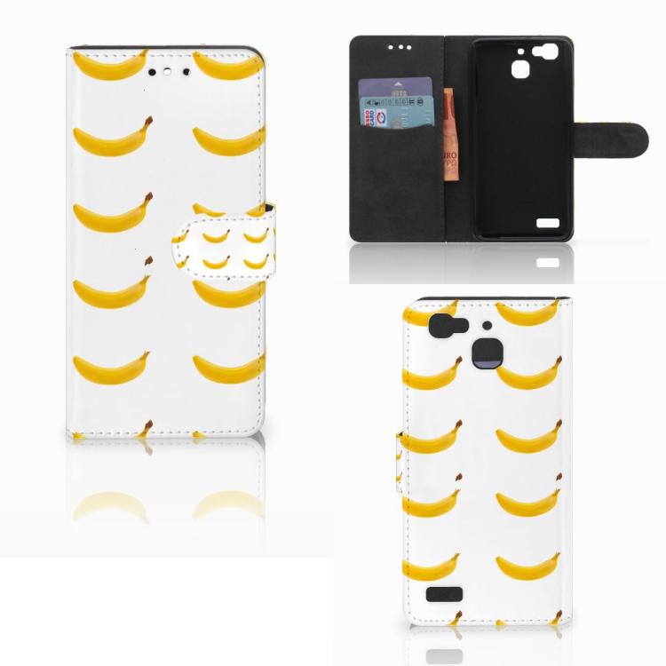 Huawei P8 Lite Smart (GR3) Book Cover Banana