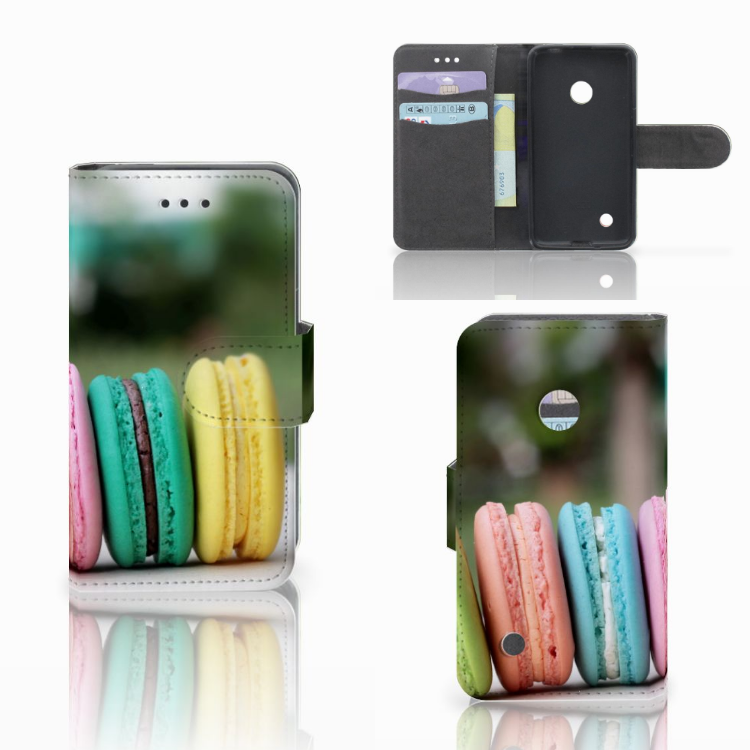 Nokia Lumia 530 Book Cover Macarons