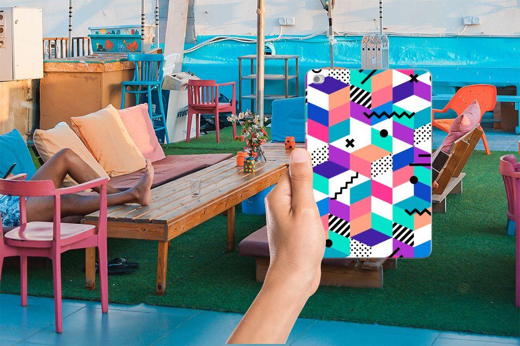 Apple iPad Mini 4 | Mini 5 (2019) Back Cover Blokken Kleurrijk