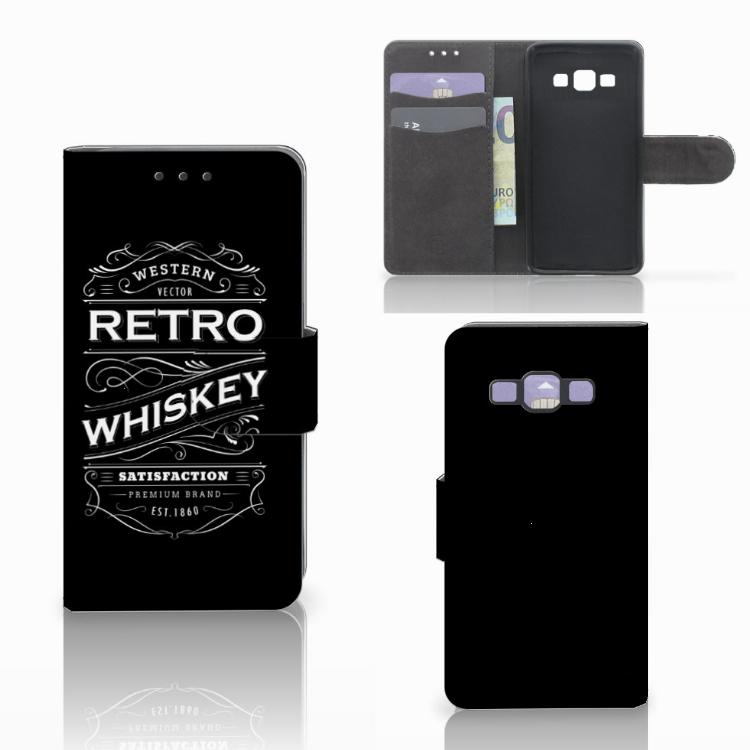 Samsung Galaxy A3 2015 Book Cover Whiskey
