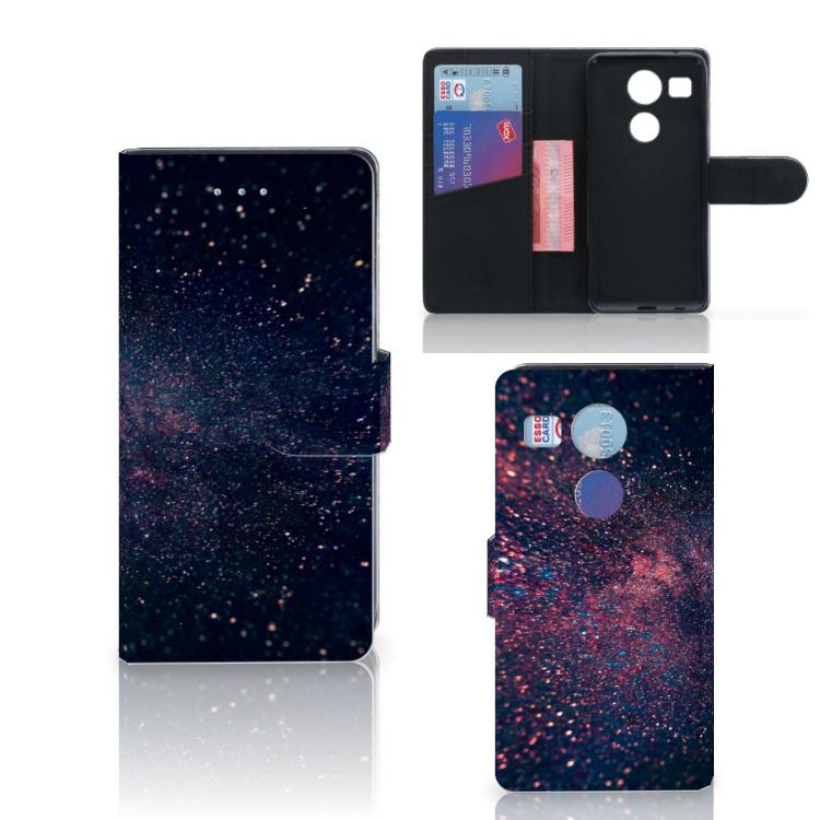 LG Nexus 5X Bookcase Stars
