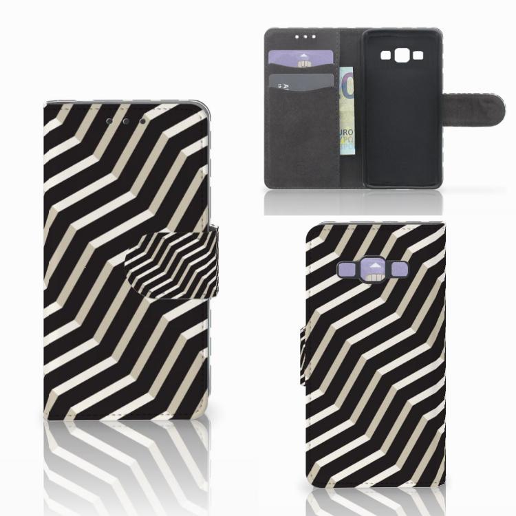 Samsung Galaxy A3 2015 Bookcase Illusion