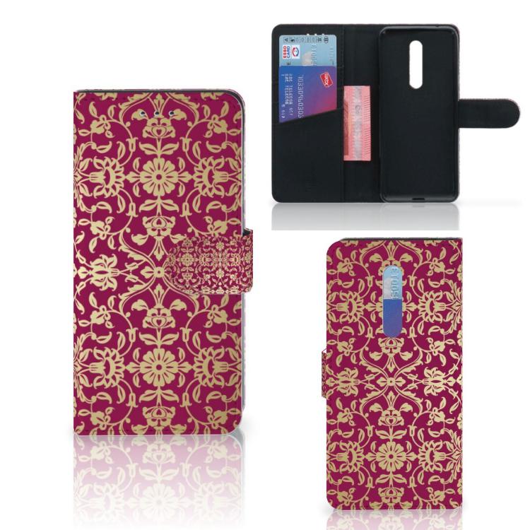 Wallet Case Xiaomi Mi 9T Pro Barok Pink