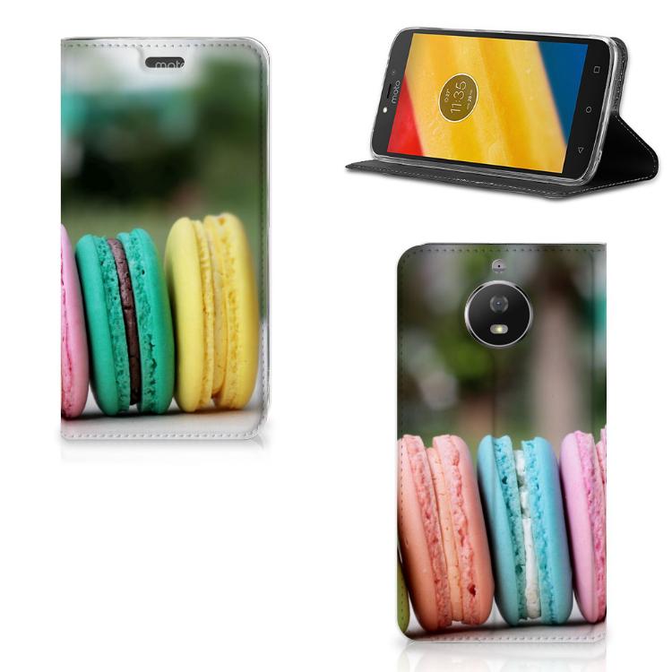 Motorola Moto G5S Flip Style Cover Macarons