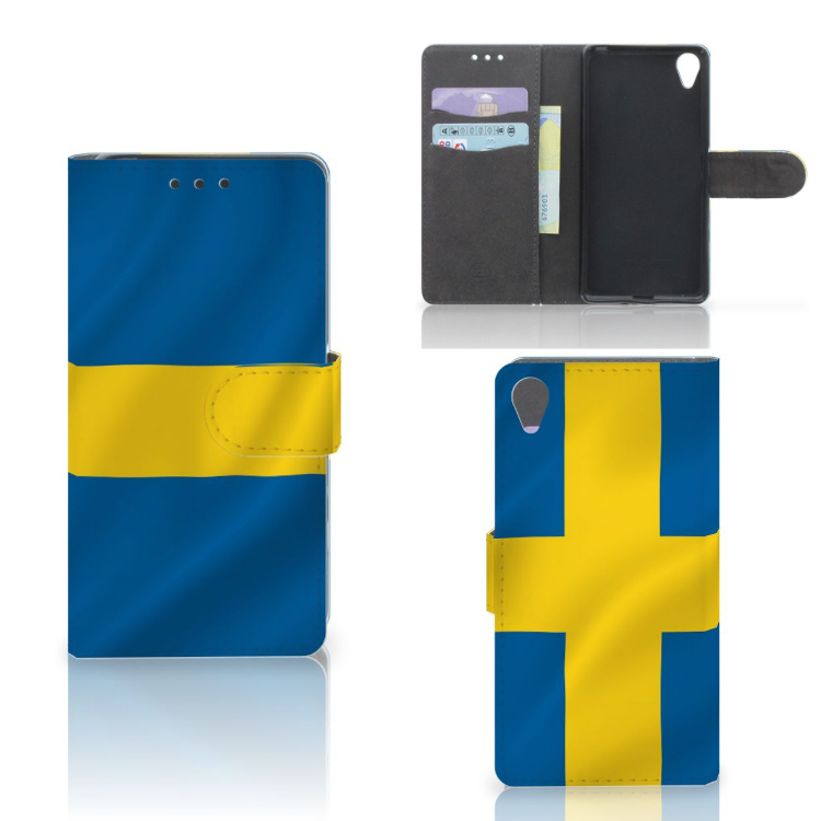 Sony Xperia X Bookstyle Case Zweden