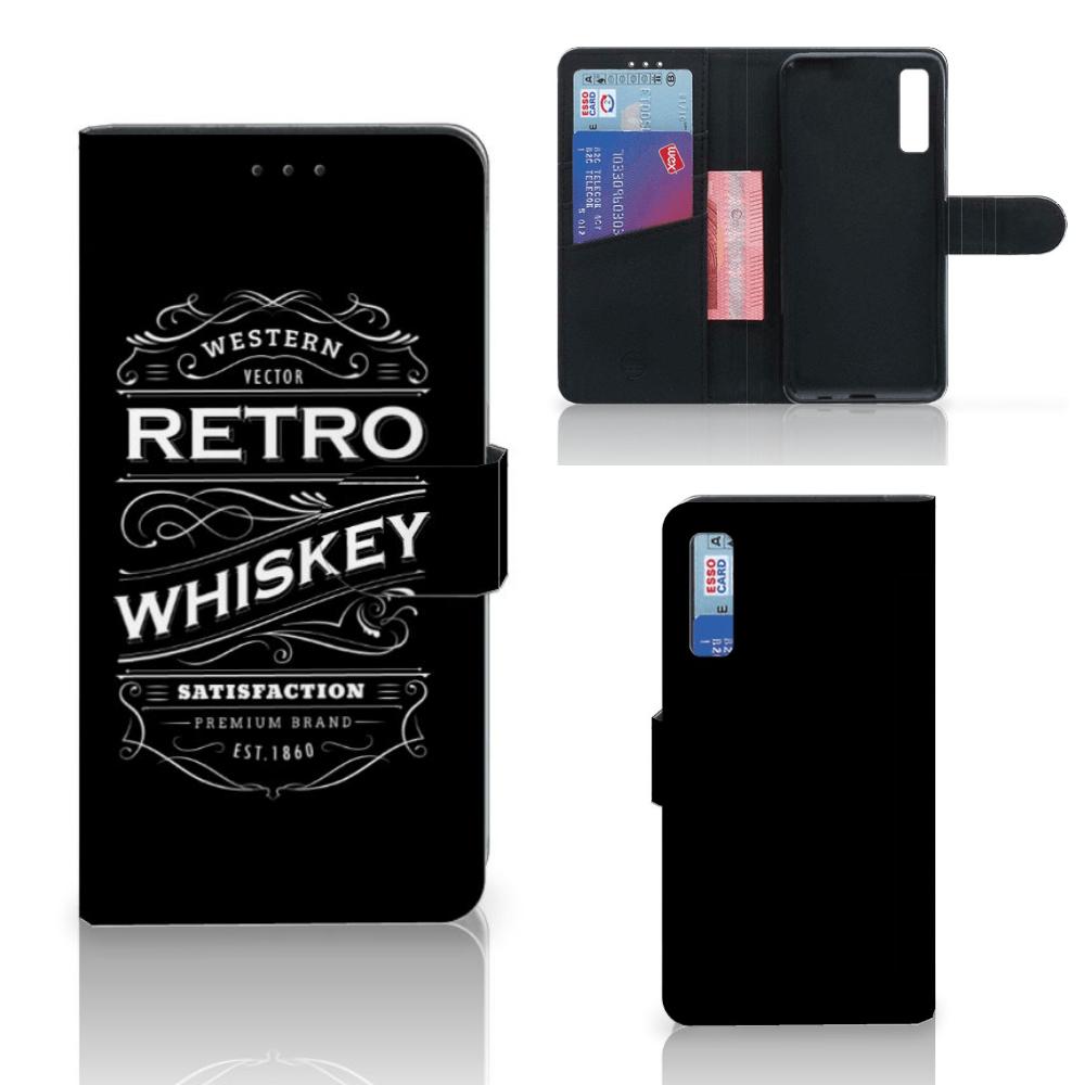Samsung Galaxy A7 (2018) Book Cover Whiskey