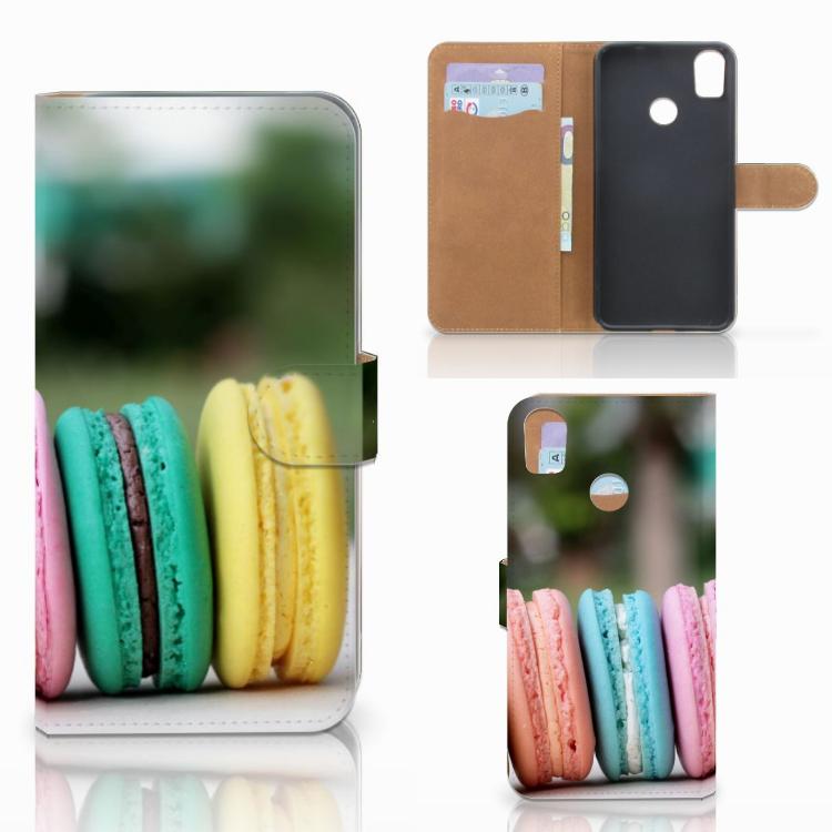 HTC Desire 10 Pro Book Cover Macarons