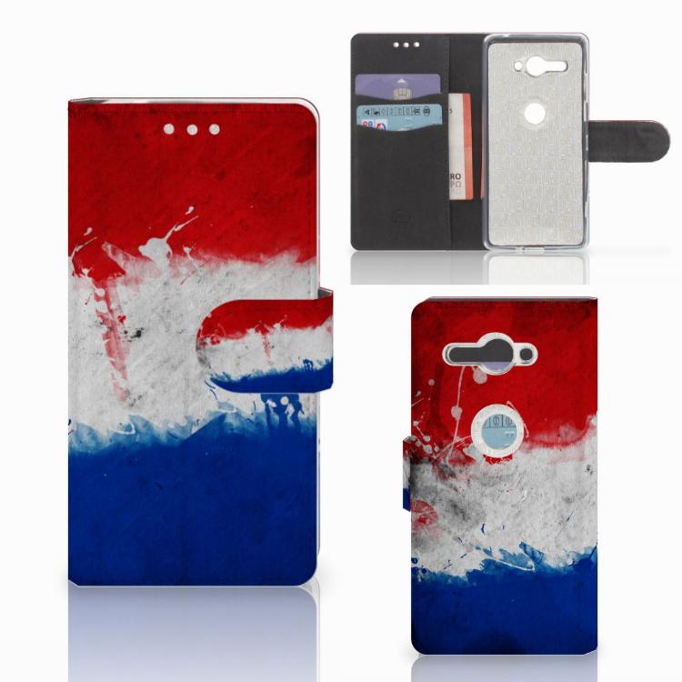 Sony Xperia XZ2 Compact Bookstyle Case Nederland