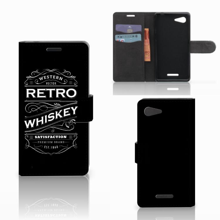 Sony Xperia E3 Book Cover Whiskey