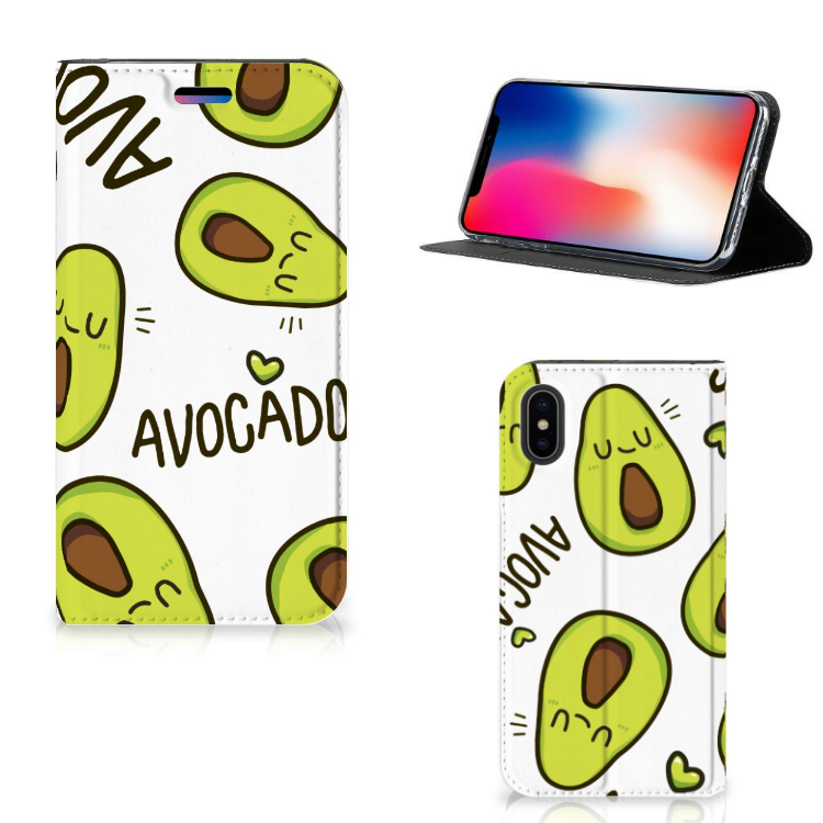 Apple iPhone X | Xs Magnet Case Avocado Singing