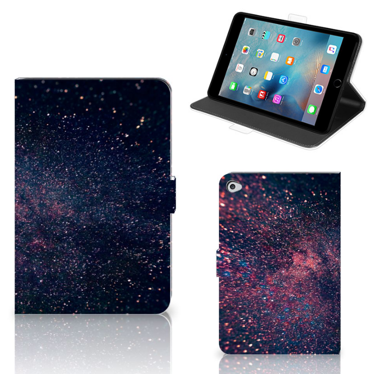 Apple iPad Mini 5 Tablet Beschermhoes Stars