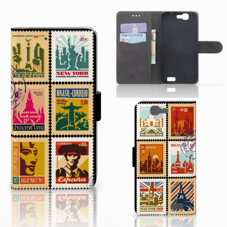 Huawei Ascend G7 Flip Cover Postzegels