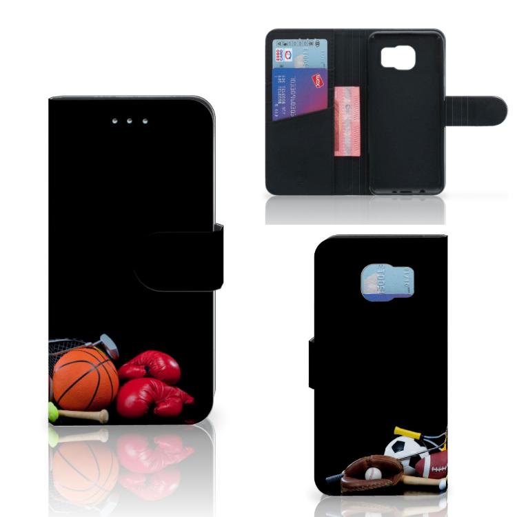 Samsung Galaxy S6 SM-G920F Uniek Ontworpen Hoesje Sport