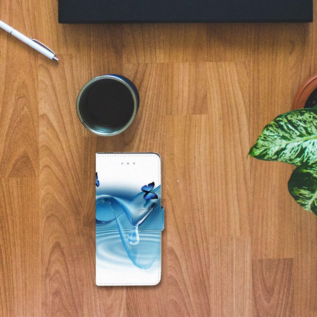 Apple iPhone 6 Plus   6s Plus Telefoonhoesje met Pasjes Vlinders