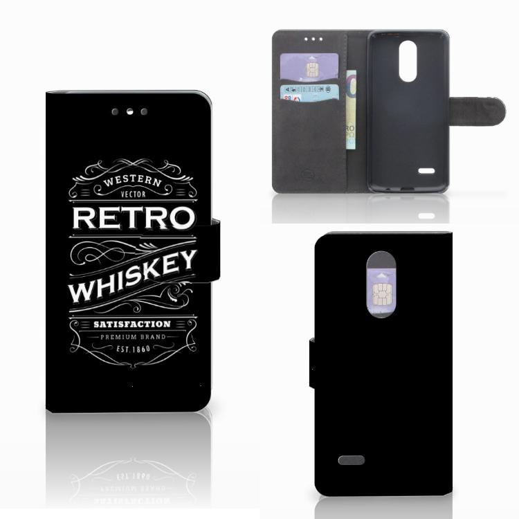 LG K4 (2017) Book Cover Whiskey