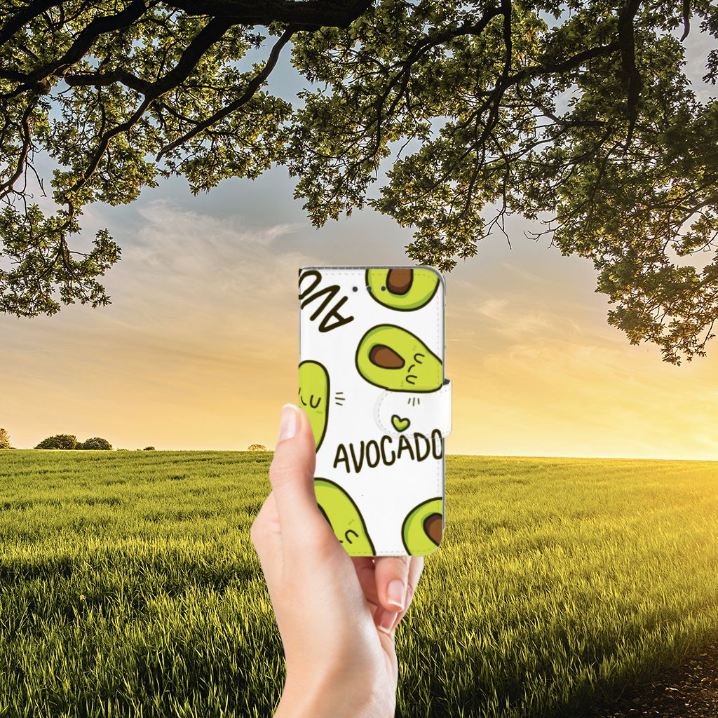Samsung Galaxy J3 2016 Leuke Hoesjes Avocado Singing