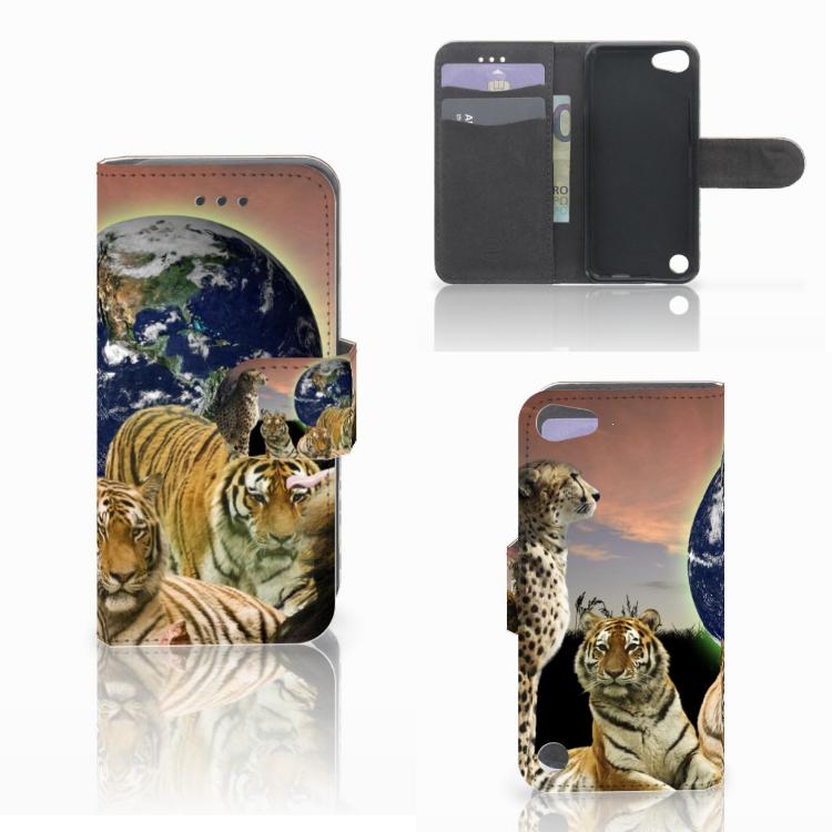 Apple iPod Touch 5 | 6 | iPod (2019) Telefoonhoesje met Pasjes Roofdieren