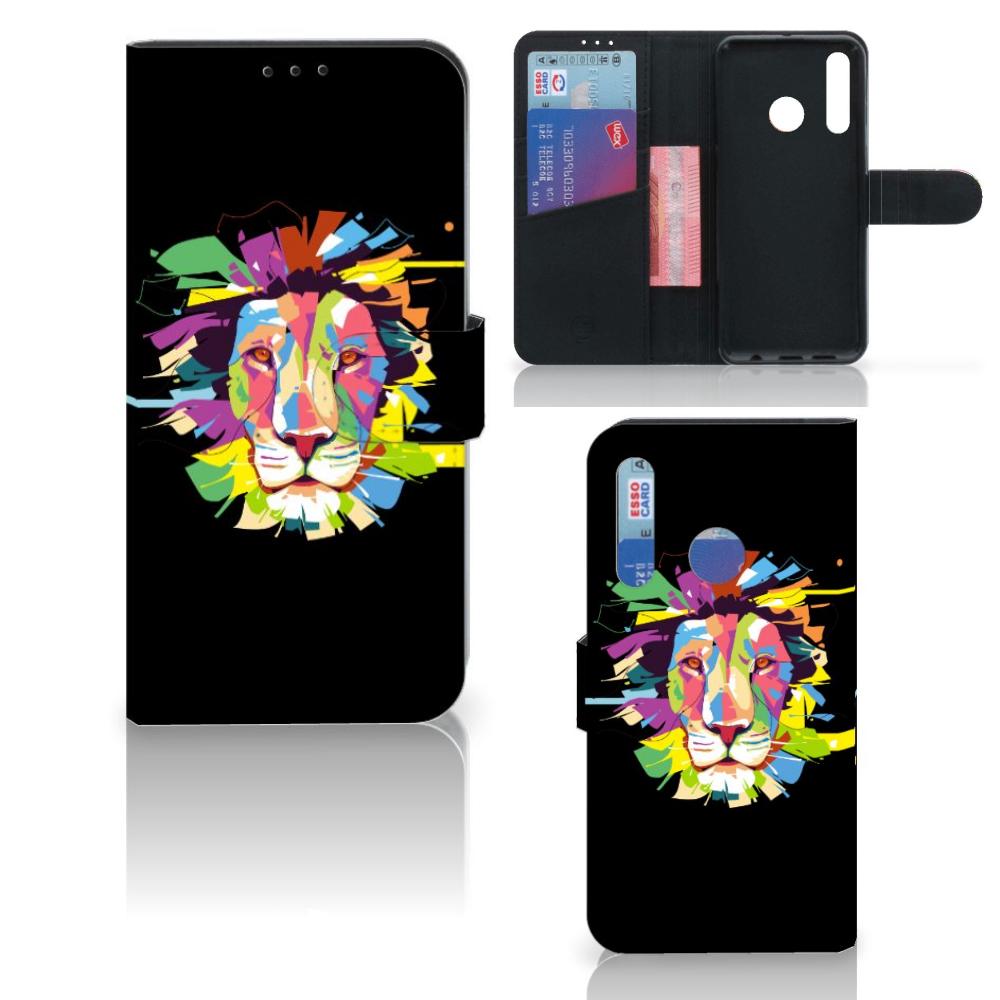 Huawei P Smart 2019 Leuk Hoesje Lion Color