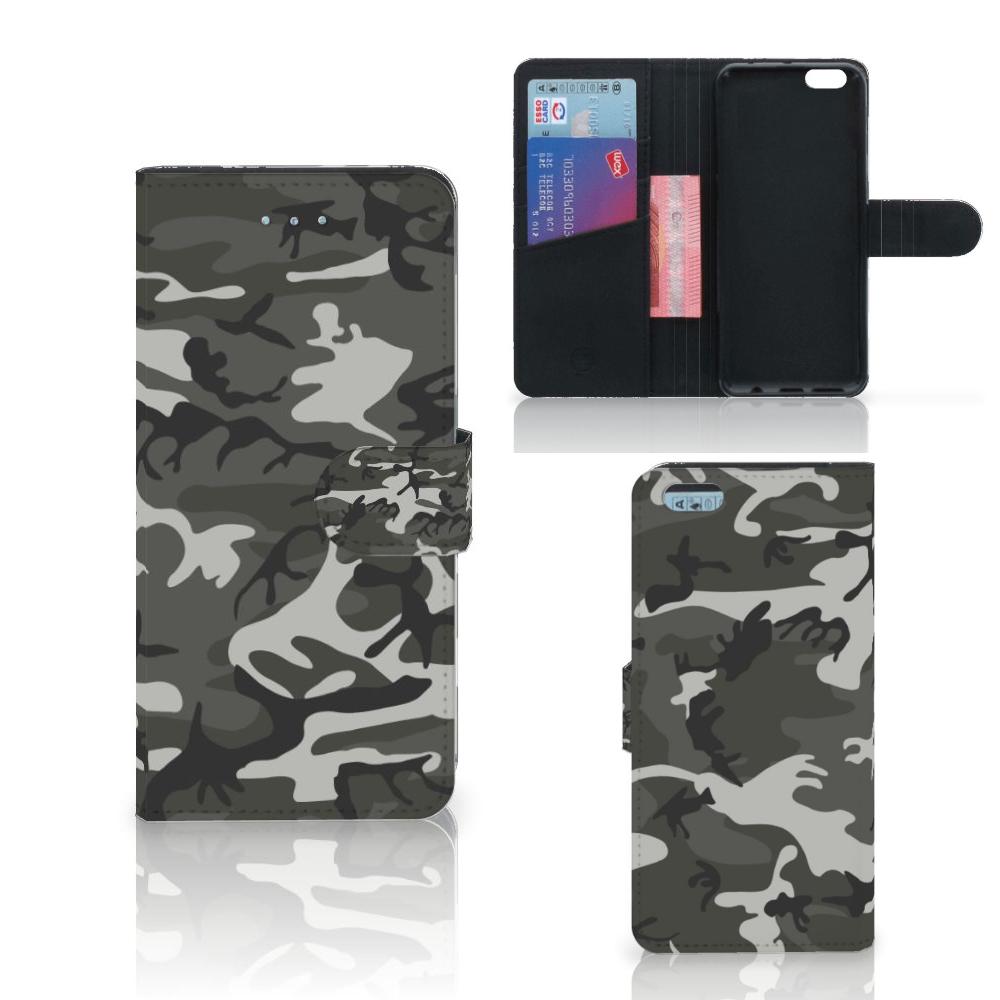 Apple iPhone 6 Plus | 6s Plus Telefoon Hoesje Army Light