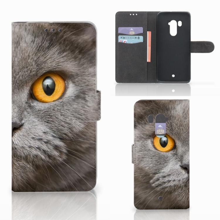 Telefoonhoesje met Pasjes HTC U11 Plus Britse Korthaar