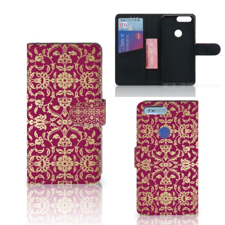 Wallet Case OnePlus 5T Barok Pink