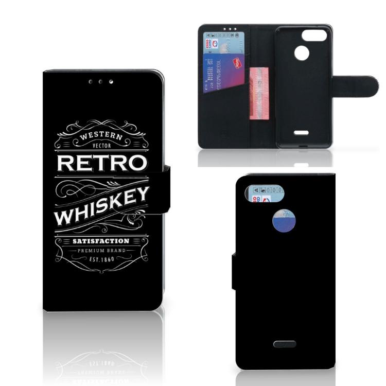 Xiaomi Redmi 6 Book Cover Whiskey