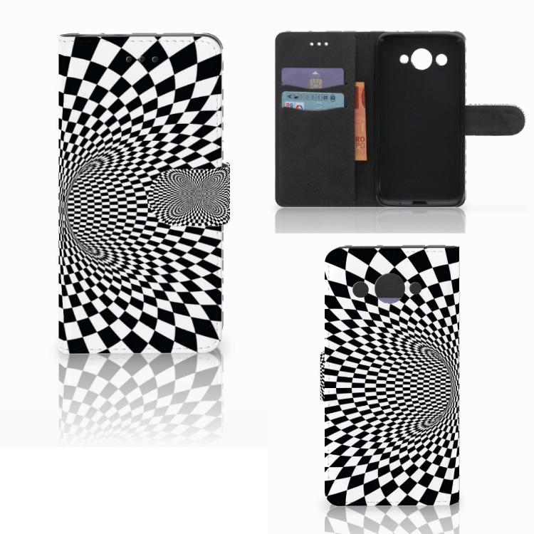 Huawei Y3 2017 Bookcase Illusie
