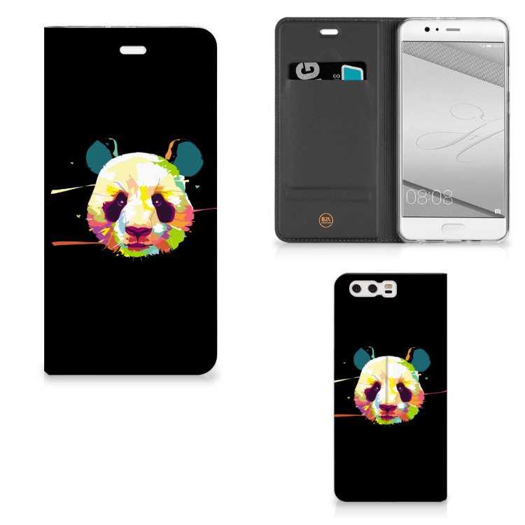Huawei P10 Plus Magnet Case Panda Color