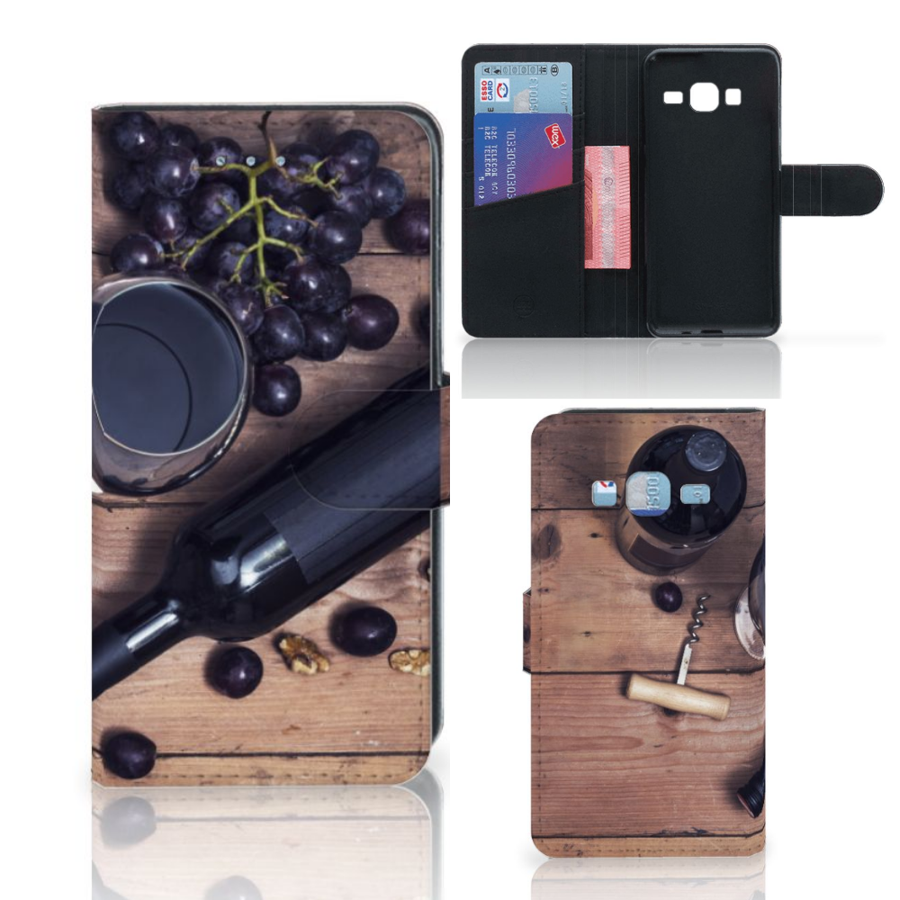 Samsung Galaxy J3 2016 Book Cover Wijn