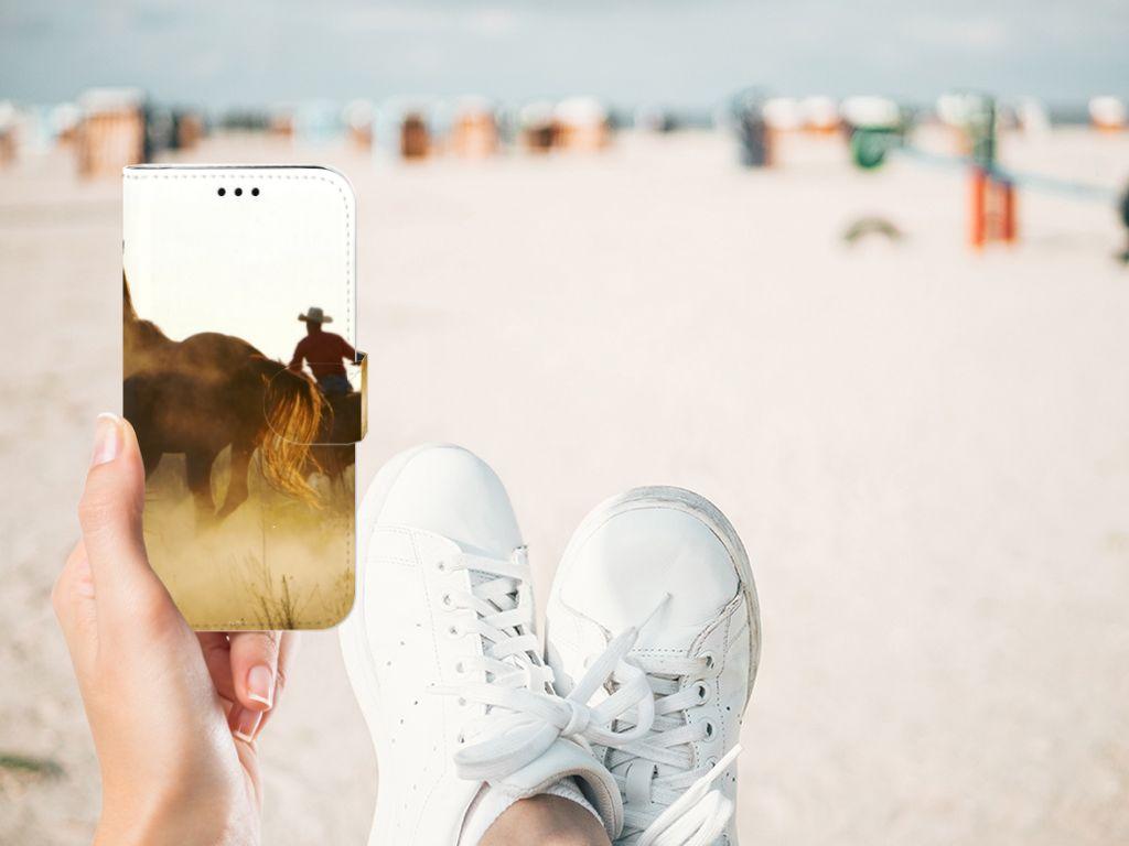 Samsung Galaxy J5 2017 Telefoonhoesje met Pasjes Design Cowboy