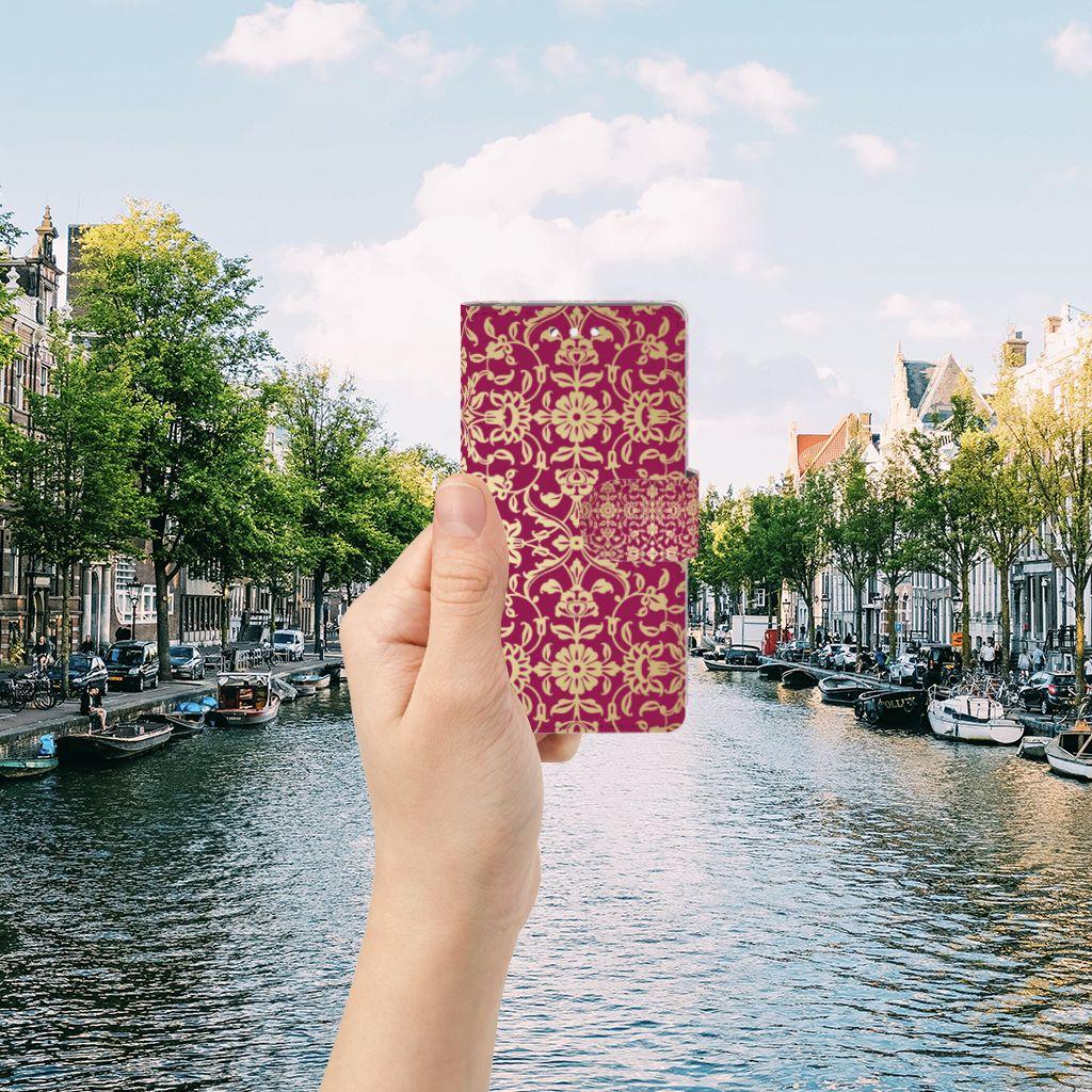 Samsung Galaxy S5 | S5 Neo Boekhoesje Design Barok Pink