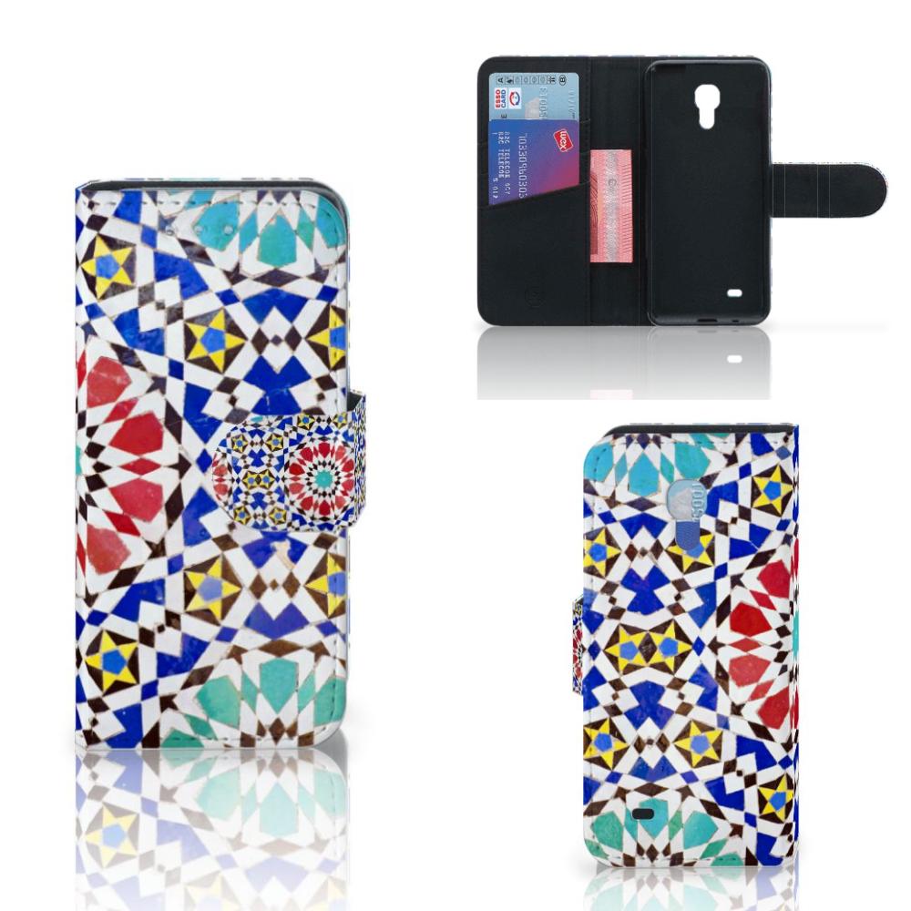 Samsung Galaxy S4 Mini Bookstyle Case Mozaïek