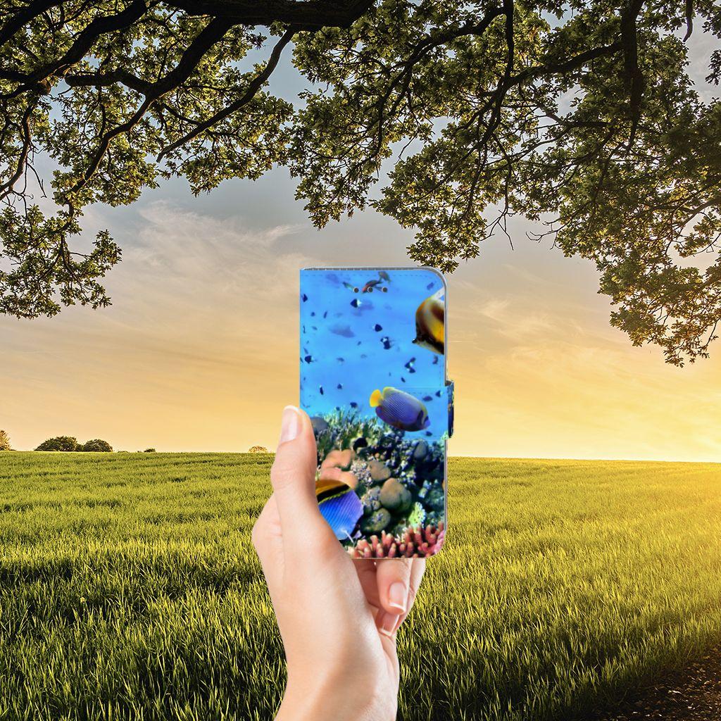 Samsung Galaxy J3 2016 Boekhoesje Design Vissen