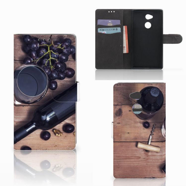 Sony Xperia XA2 Ultra Book Cover Wijn