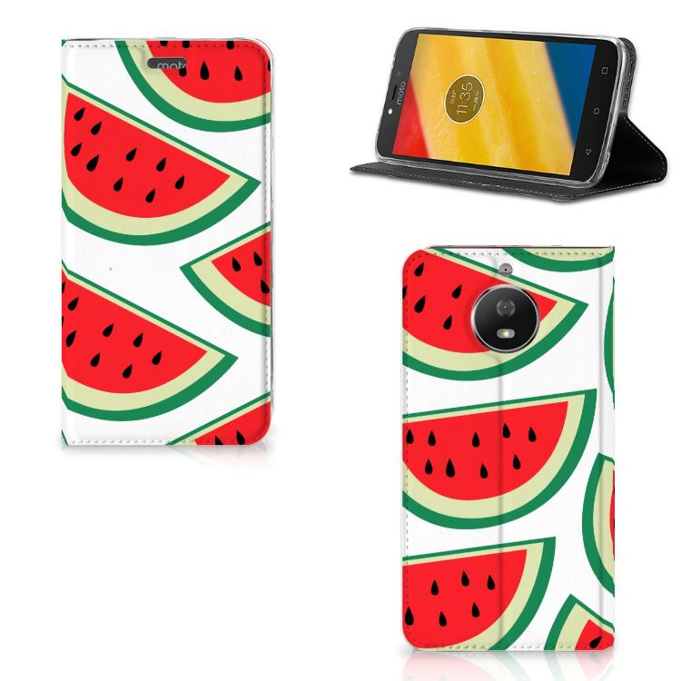 Motorola Moto G5S Flip Style Cover Watermelons