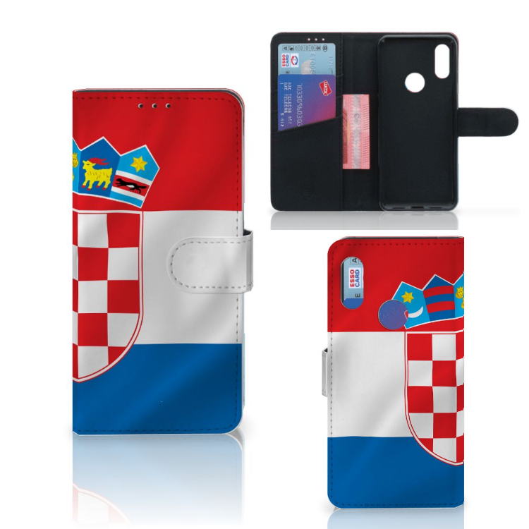 Xiaomi Redmi 7 Bookstyle Case Kroatië