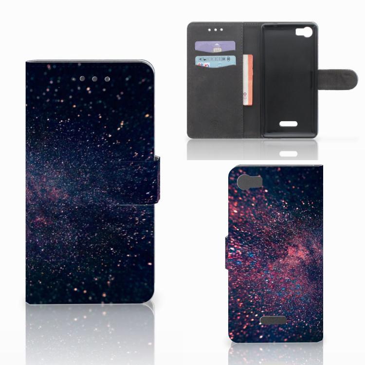Wiko Fever (4G) Bookcase Stars