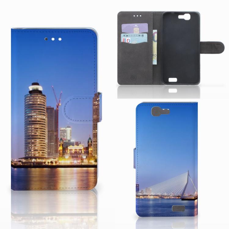 Huawei Ascend G7 Flip Cover Rotterdam