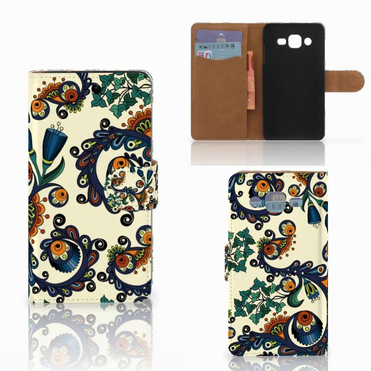 Wallet Case Samsung Galaxy J2 (2015) Barok Flower