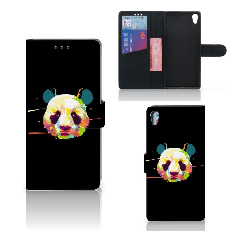 Sony Xperia XA1 Ultra Leuk Hoesje Panda Color