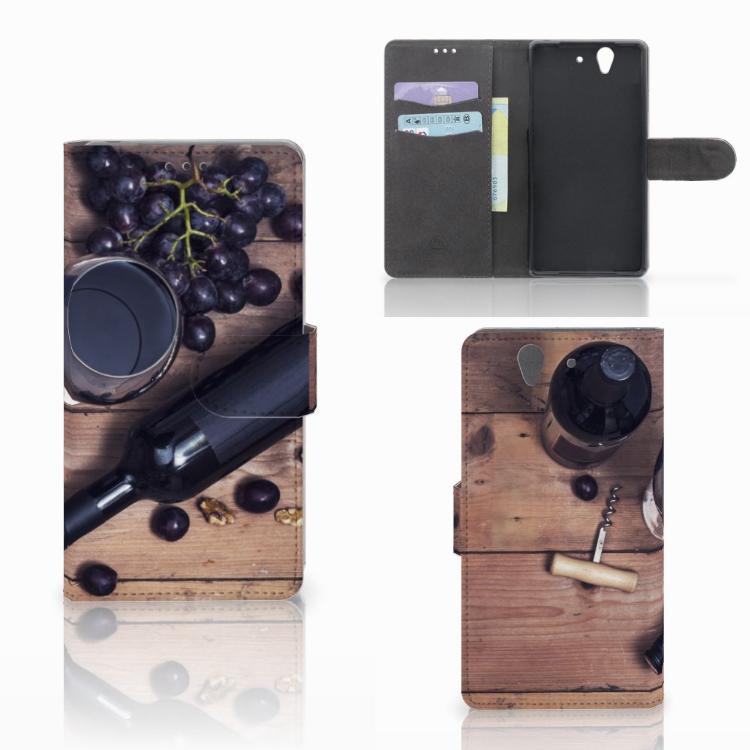 Sony Xperia Z Book Cover Wijn